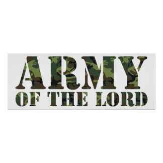 Army Of the Lord Print