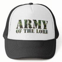Army Of the Lord Trucker Hat