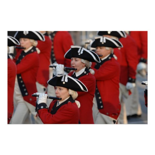 Army Old Guard Fife and Drum Corps Poster