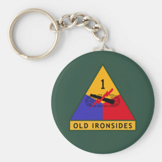 Army Old Ironsides Keychain