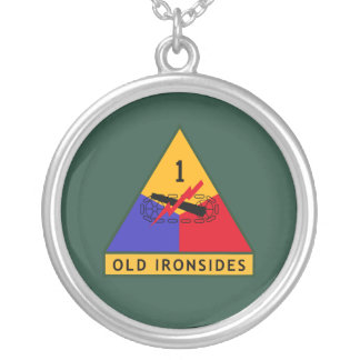 Army Old Ironsides Personalized Necklace