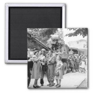 "Army Ordnance men await the ""go""_War Image Magnet"