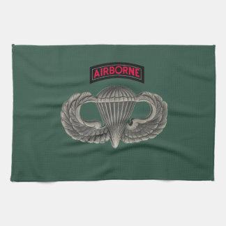 Army Parachutist Kitchen Towel