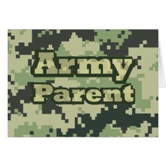 Army Parent Card
