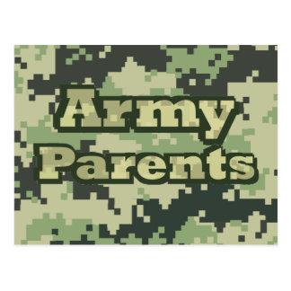 Army Parents Postcards