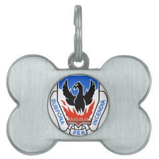 ARMY PATCHES 4 SPECIAL TROOPS BATTALION MILITARY PET NAME TAGS