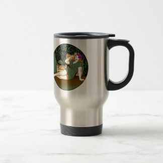 Army Pin-Up 15 Oz Stainless Steel Travel Mug
