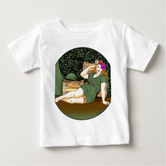 Army Pin-Up Baby T-Shirt