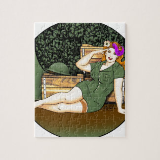 Army Pin-Up Jigsaw Puzzle