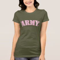 Army Pink Camo T-Shirt