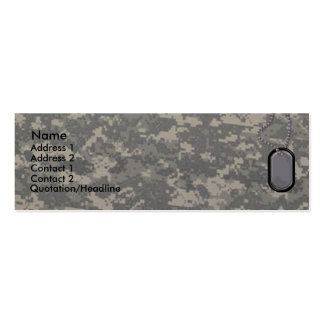 Army Profile Card