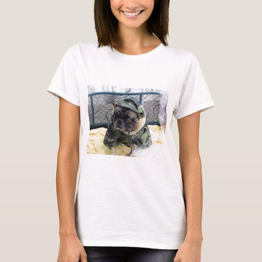 Army Pug T-Shirt