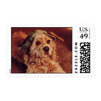 Army Puppy Stamp