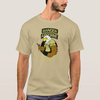 """Army Ranger Airborne """"Messing with The Best"""" T-Shirt"""