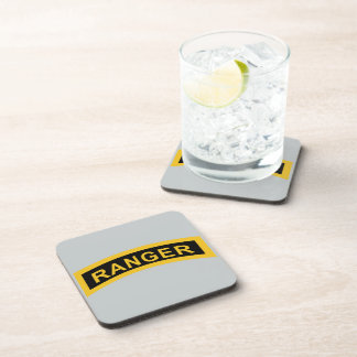 Army Ranger Tab Beverage Coaster