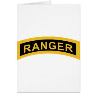 Army Ranger Tab Card