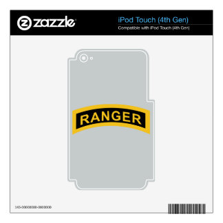 Army Ranger Tab iPod Touch 4G Skins