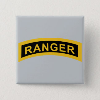 Army Ranger Tab Pinback Button
