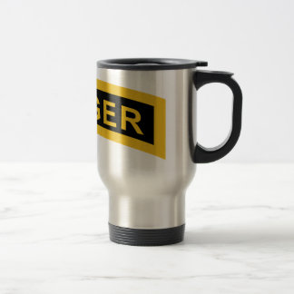Army Ranger Tab Travel Mug