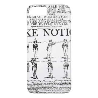 Army recruiting notice used during the period of t iPhone 8/7 case