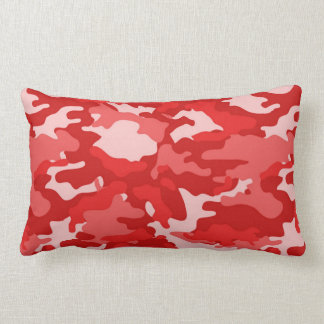 Army Red Camo Camouflage #2 Pillow Pillows