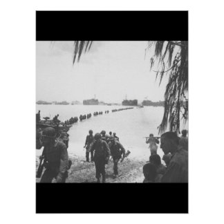 Army reinforcements disembarking from_War Image Poster