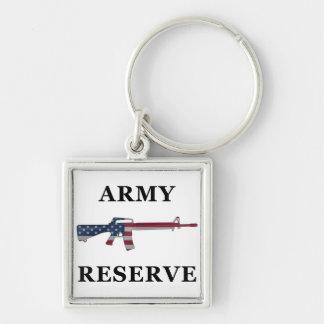Army Reserve M16 Keychain