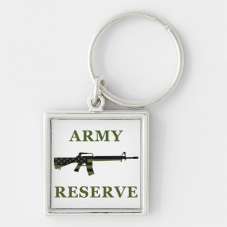 Army Reserve M16 Keychain Subdued