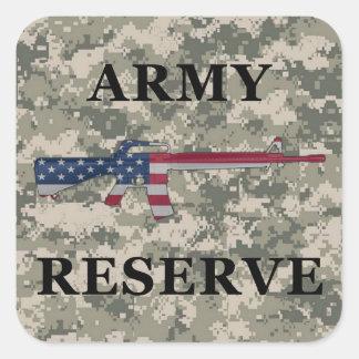 Army Reserve M16 Sticker ACU