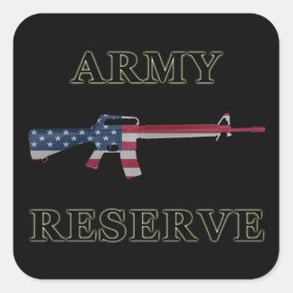 Army Reserve M16 Sticker Black
