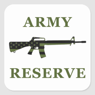 Army Reserve M16 Sticker Subdued