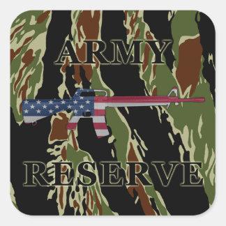 Army Reserve M16 Sticker Tiger Stripe