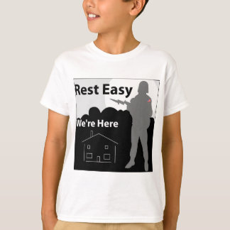 Army - Rest Easy We're Here T-Shirt
