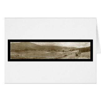 Army Rifle Range Photo 1918 Card