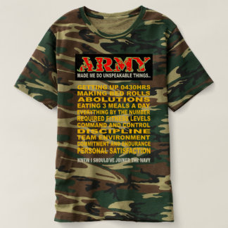 ARMY ROUGH T-SHIRT