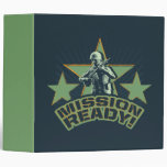 Army Sarge: Mission Ready! 3 Ring Binder