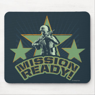 Army Sarge: Mission Ready! Mouse Pad