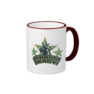 Army Sarge: Mission Ready! Ringer Coffee Mug