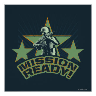 Army Sarge: Mission Ready Poster