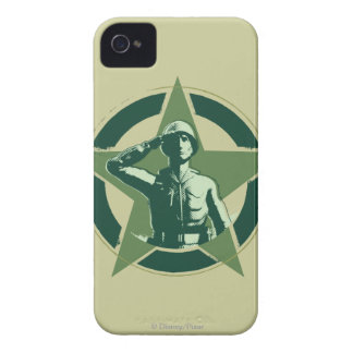 Army Sarge Salutes iPhone 4 Case-Mate Cases