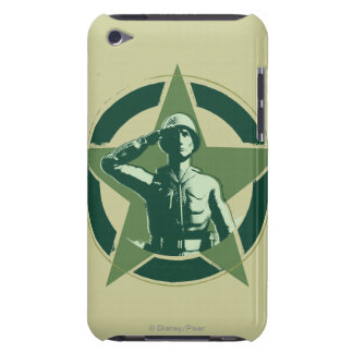 Army Sarge Salutes iPod Touch Case-Mate Case