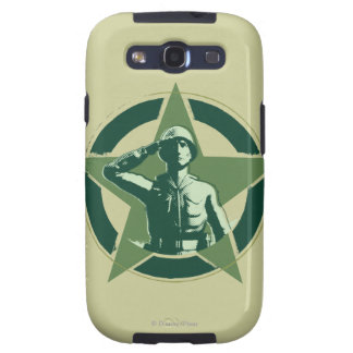 Army Sarge Salutes Galaxy SIII Cover