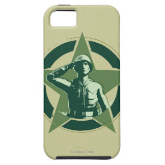 Army Sarge Salutes iPhone 5 Covers