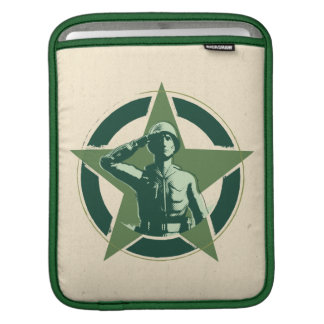 Army Sarge Salutes Sleeves For iPads