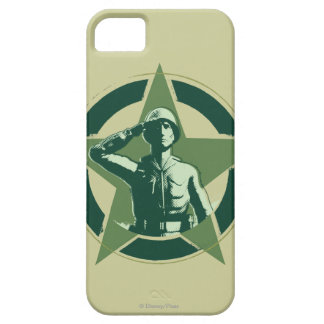 Army Sarge Salutes iPhone SE/5/5s Case