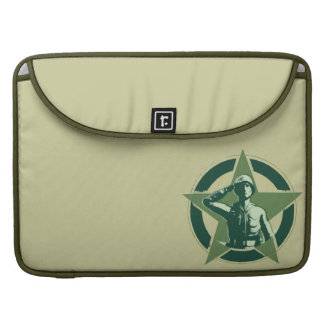 Army Sarge Salutes MacBook Pro Sleeve