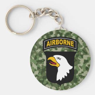 Army Screaming Eagle Keychain