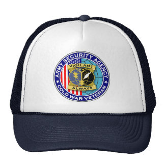 Army Security Agency - Cold War Veteran Trucker Hat