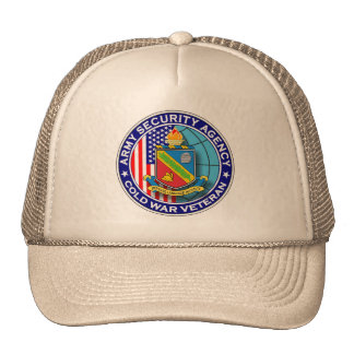 Army Security Agency & DLI Cold War Veteran 1 Trucker Hat