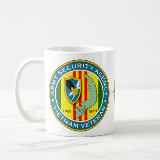 Army Security Agency SSI - Vietnam Veteran Coffee Mug
